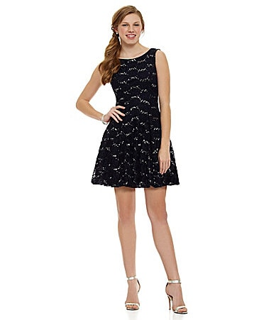B. Darlin Sleeveless Lace Dress $ 89.00
