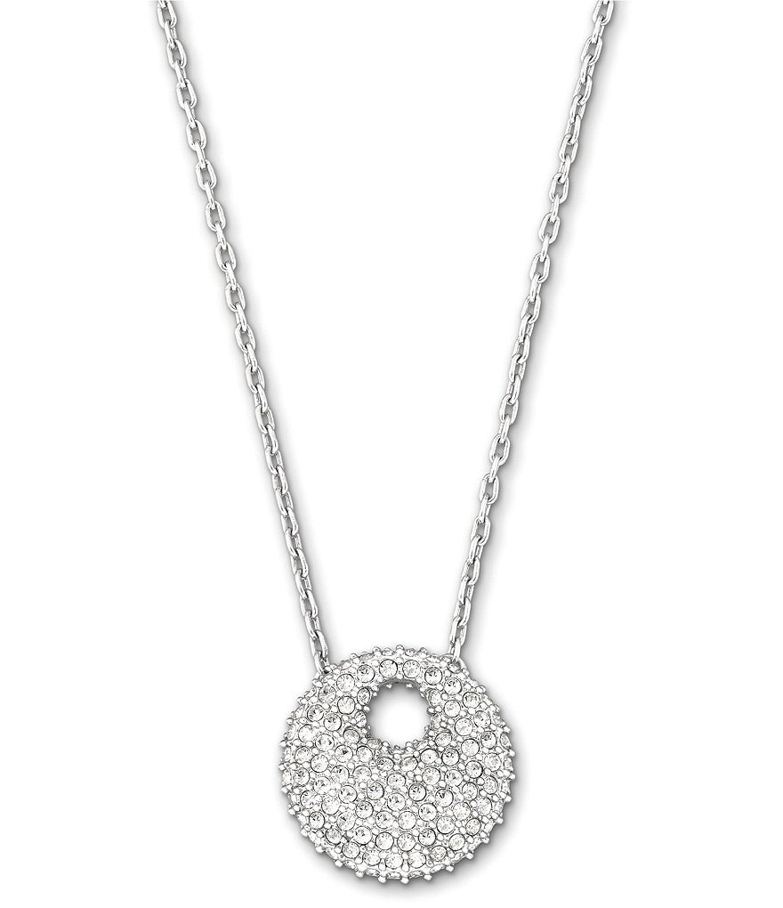 Swarovski Stone Mini Pendant Necklace