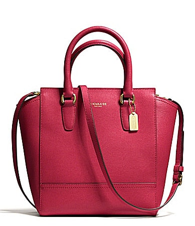 COACH MINI TANNER IN SAFFIANO LEATHER