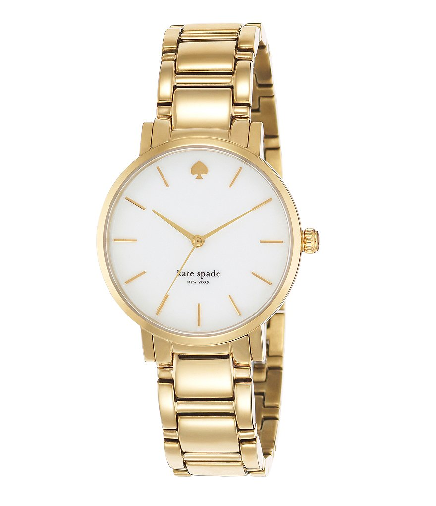 kate spade new york Gold Gramercy Bracelet Watch