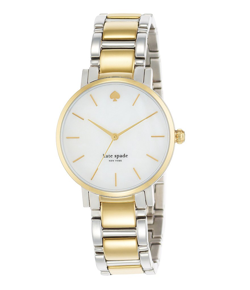 kate spade new york Two-Tone Gramercy Bracelet Watch