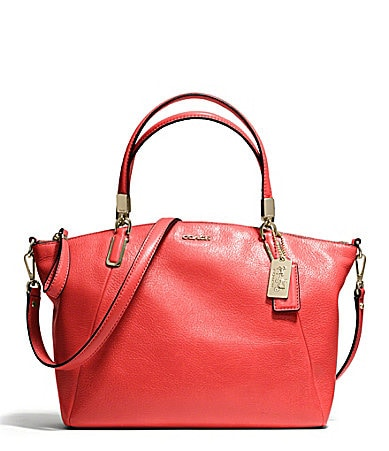 COACH MADISON SMALL KELSEY SATCHEL IN LEATHER