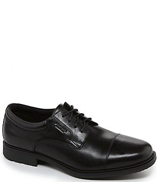 Rockport Essential Details Waterproof Cap-Toe Dress Shoes