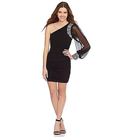 Diamond Ring Black Dresses For Juniors Dillards