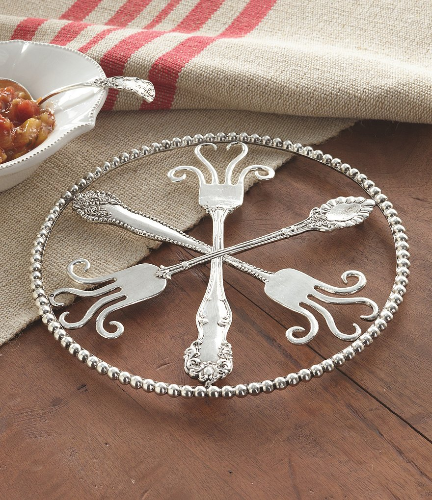 Mud Pie Circa Collection Vintage Fork Trivet