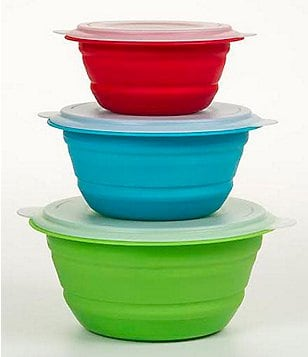 Prepworks by Progressive Collapsible Storage Bowls, Set of 3