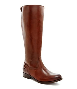 Frye Melissa Button-Back Riding Boots