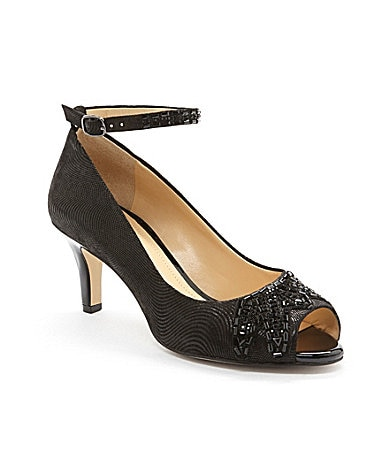 Alex Marie Brittany Peep-Toe Pumps