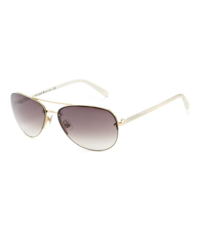 kate spade new york Rimless Aviator Sunglasses