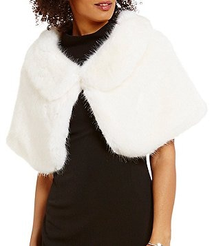 Ruyi Faux-Fur Wrap