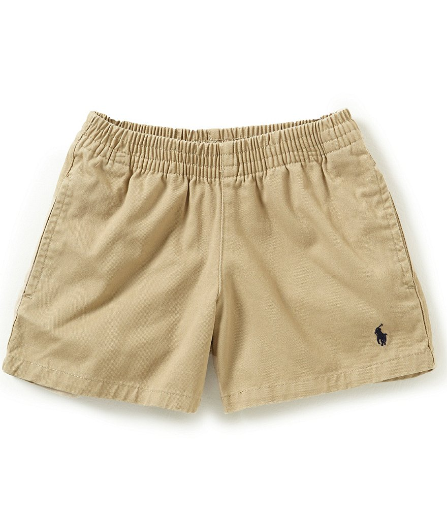 Ralph Lauren Childrenswear Little Boys 2T-7 Twill Sport Shorts