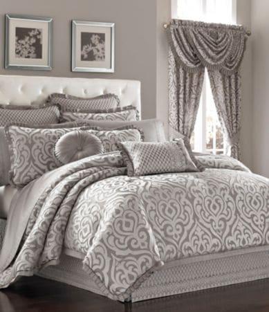 J Queen New York Babylon Damask Comforter Set Dillards