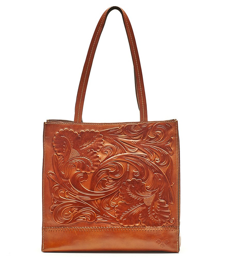 Patricia Nash Embossed Toscano Tote