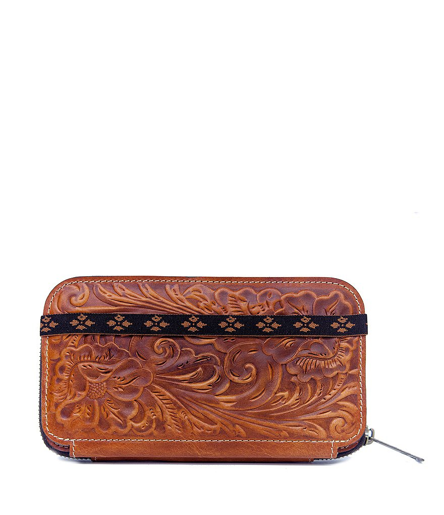 Patricia Nash Embossed Oria Wallet