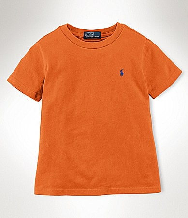 Ralph Lauren Childrenswear 8-20 Solid Crew T-Shirt
