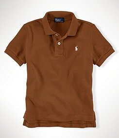 Ralph Lauren Childrenswear 2T-7 Classic Mesh Polo Shirt