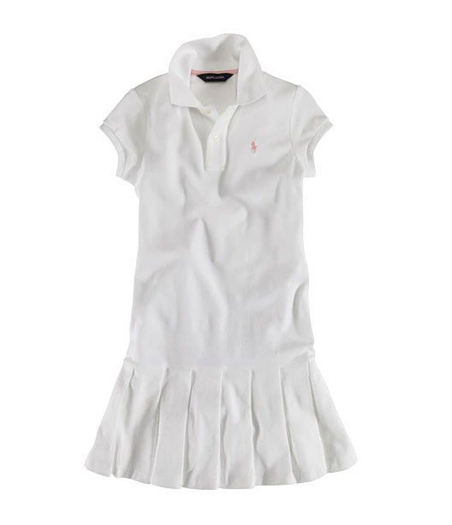 Ralph Lauren Childrenswear Little Girls 2-6X Jody Pleated Dress