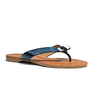 COACH SABLE SANDAL
