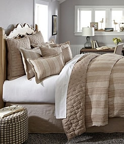 Noble Excellence Villa Signature Vintage Washed Linen Bedding Collection
