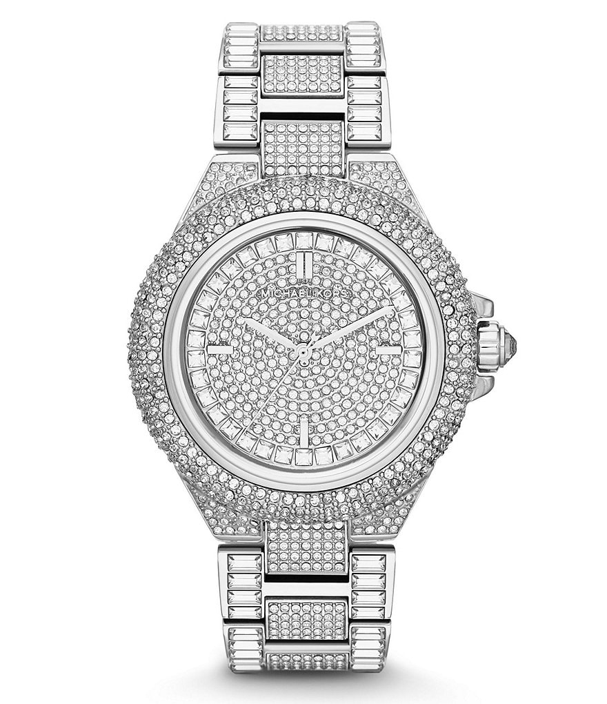 Michael Kors Camille Glitz Analog Bracelet Watch