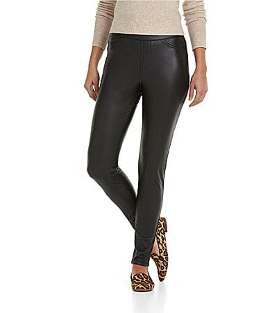HUE Leatherette Leggings