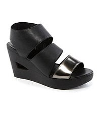 Eileen Fisher Rally Wedge Sandals