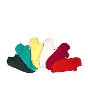 Nike Women´s Multi-Color No-Show Lightweight Socks 6-Pack