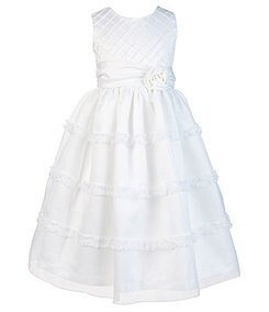 Jayne Copeland 2T-6X Sleeveless Scoopneck Dress