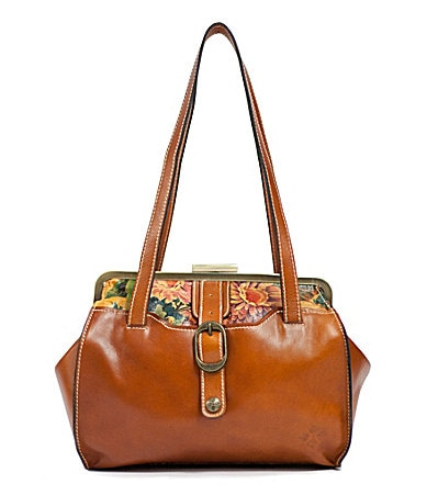 Patricia Nash Lame Satchel $ 198.00