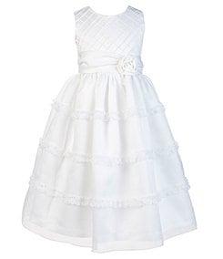 Jayne Copeland 7-12 Sleeveless Scoopneck Dress