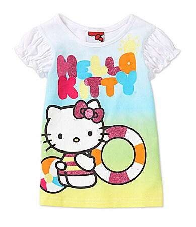 Hello Kitty 2T-6X Beach Kitty Tee $ 14.00