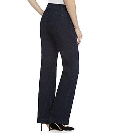 NYDJ Wynonna Wide-Leg Jeans