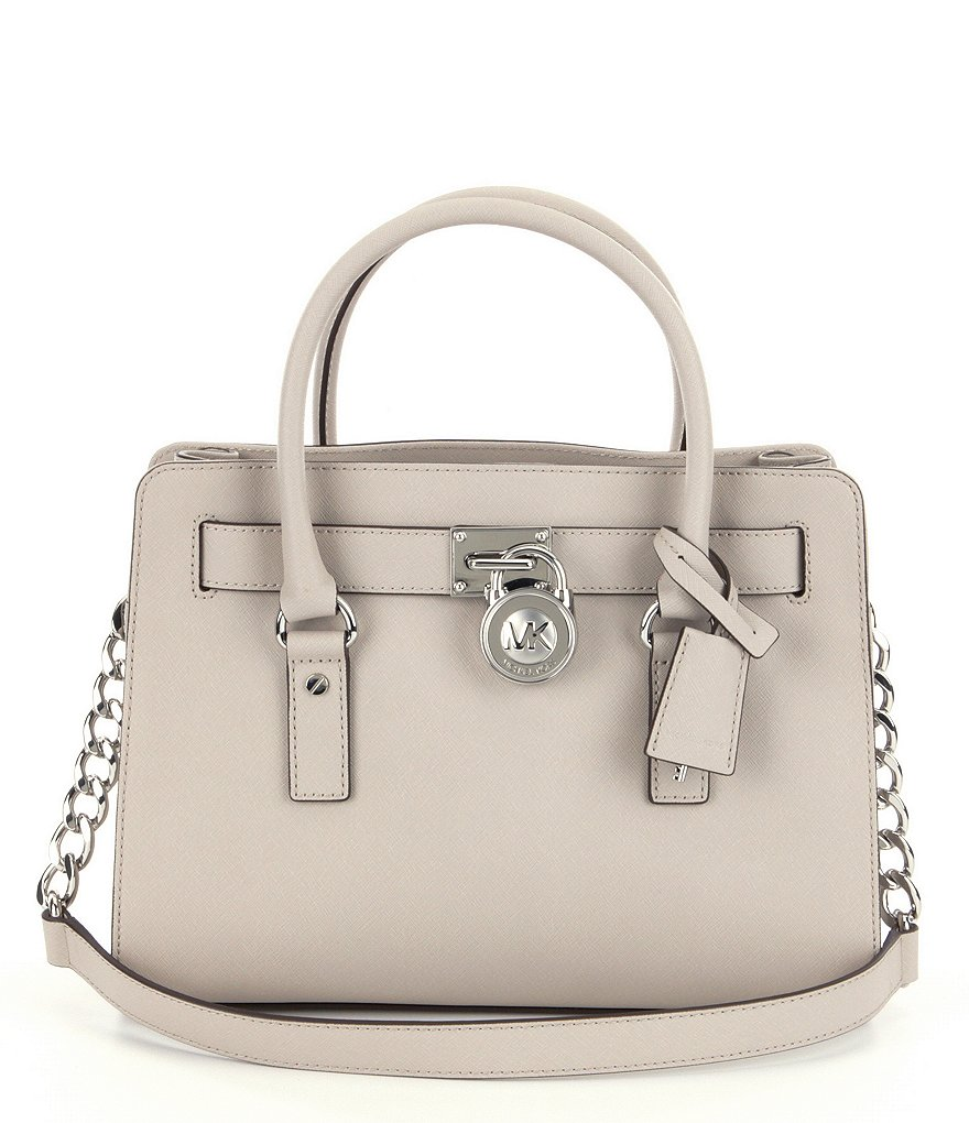 MICHAEL Michael Kors Hamilton East/West Chain Strap Satchel
