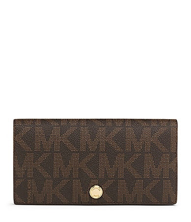 MICHAEL Michael Kors Signature Large Slim Wallet