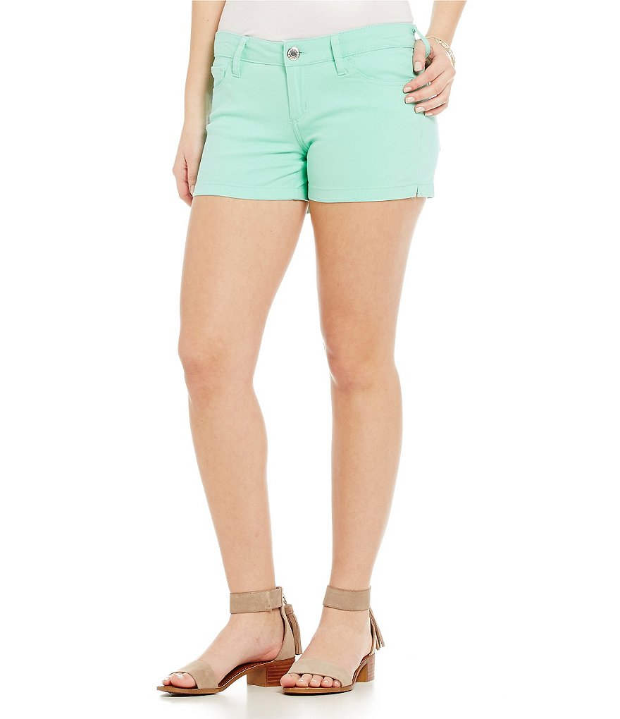 Celebrity Pink Low-Rise Twill Shorts