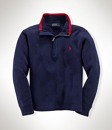 Ralph Lauren Childrenswear 2T-7 Half-Zip Pullover