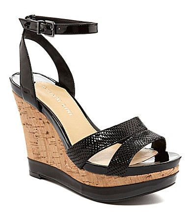 Gianni Bini Kinsley Wedge Sandals