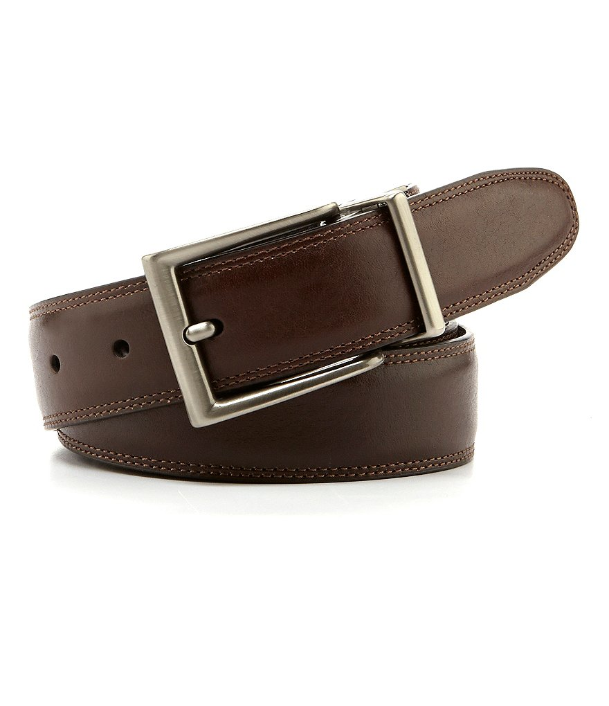 Roundtree & Yorke Resa Leather Belt