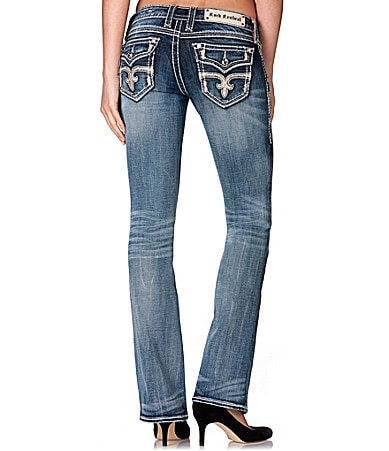 Rock Revival Angie Bootcut Jeans