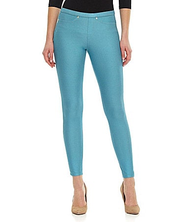 HUE Pearlized Jean Leggings