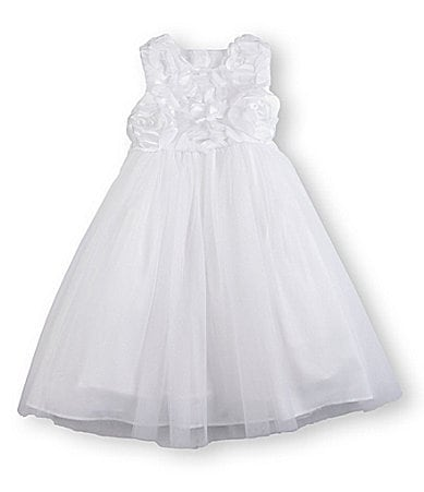 Pippa & Julie 2T-6X Soutache/Tulle Dress