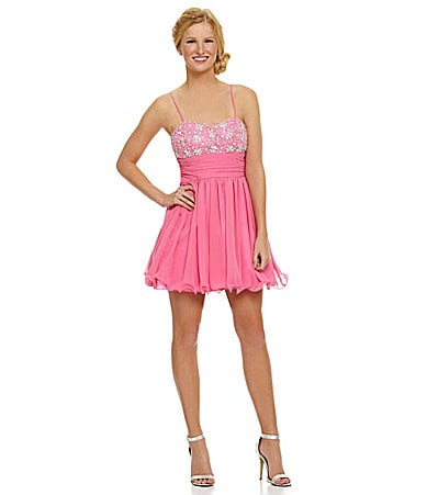 B. Darlin Sweetheart Beaded Party Dress $ 71.40