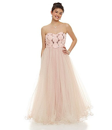 Xtraordinary Soutache Mesh Ball Gown