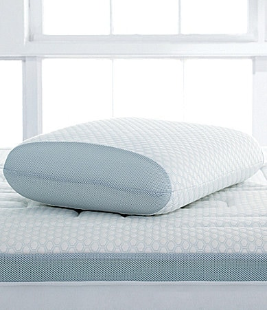 Sensorpedic Oversized Gel-Cool Overlay Memory Foam Bed Pillow