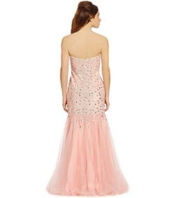 Glamour by Terani Couture Sweetheart Trumpet Gown