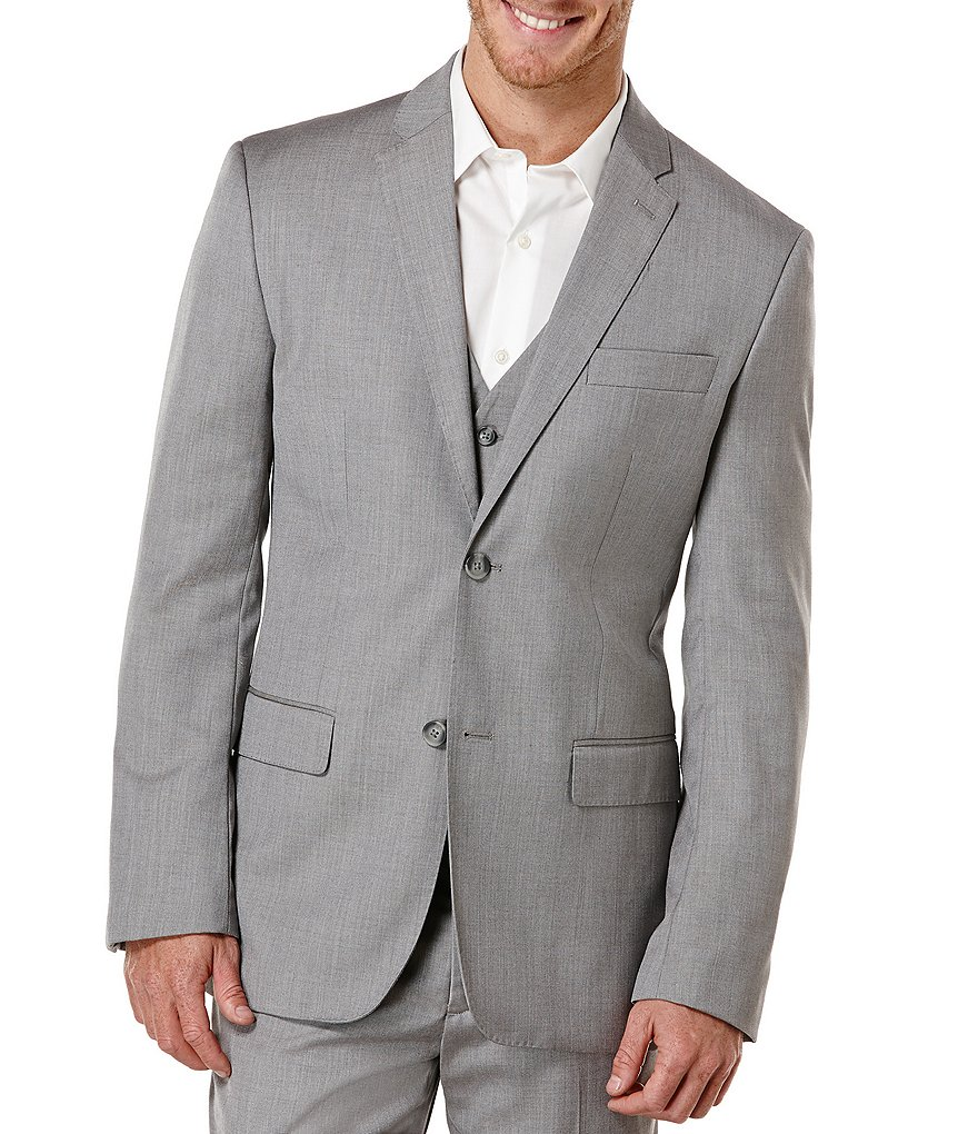 Perry Ellis Herringbone Sportcoat