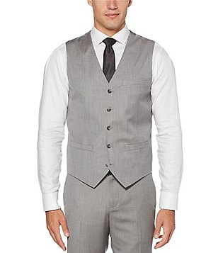Perry Ellis Herringbone Vest