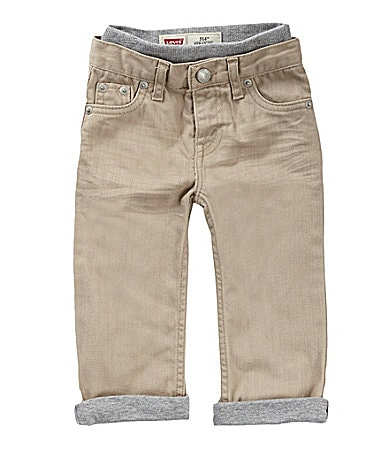 Levi�s 3-24 Months Denim Pull-On Pants
