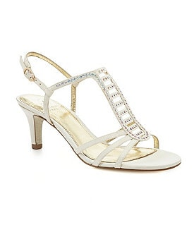 Adrianna Papell Ainsley Beaded Dress Sandals Image
