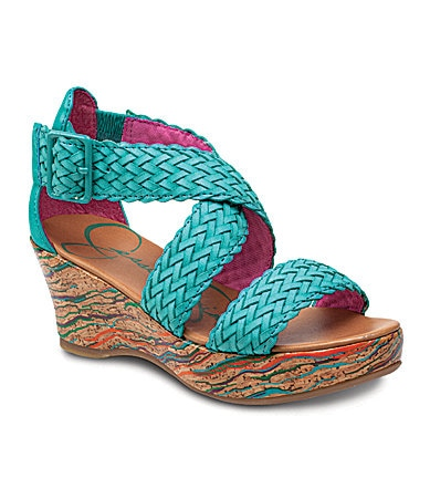 Jessica Simpson Girls� Serena Wedge Sandals